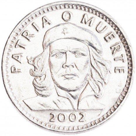 купить Республика Куба 3 песо 2002 Эрнесто Че Гевара