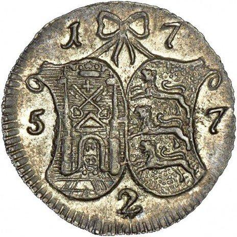 купить 2 копейки 1757 года