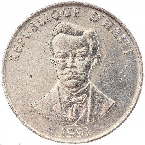 купить 50 сантимов 1991 Гаити
