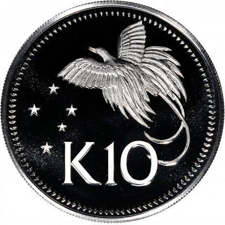 купить Папуа — Новая Гвинея 10 кина 1975