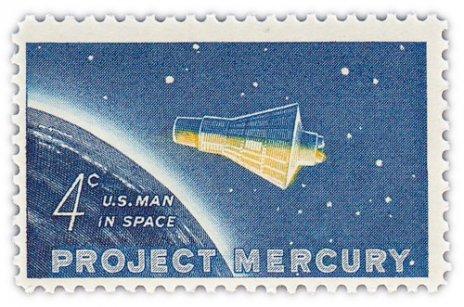 """купить США 4 цента 1962 """"Проект Меркурий"""""""