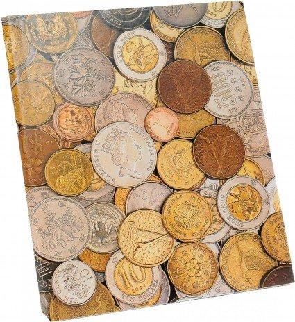 """купить Папка на кольцах формата """"Optima"""" для иностранных монет (2й тип)"""