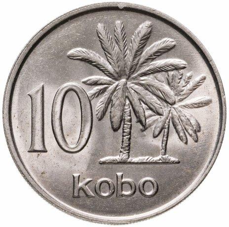 купить Нигерия 10 кобо 1989 (редкий год)