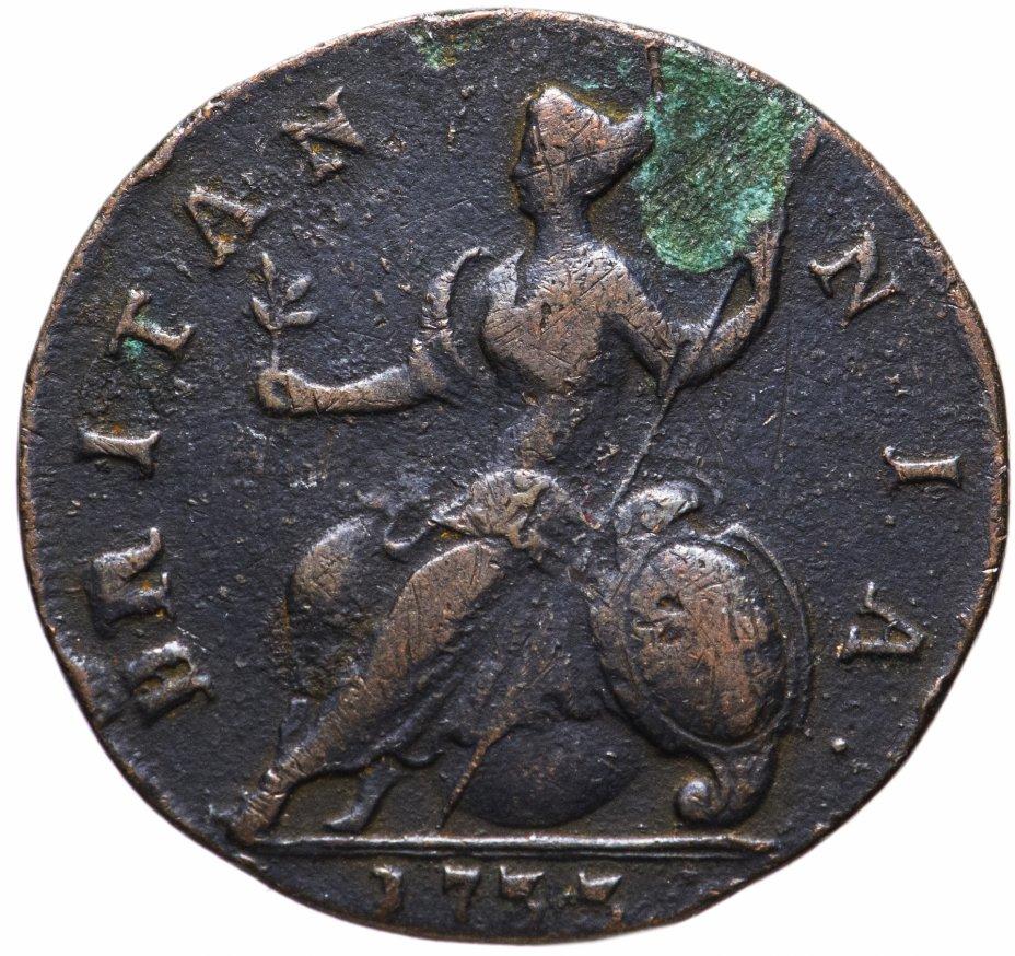 купить Великобритания 1 фартинг 1733