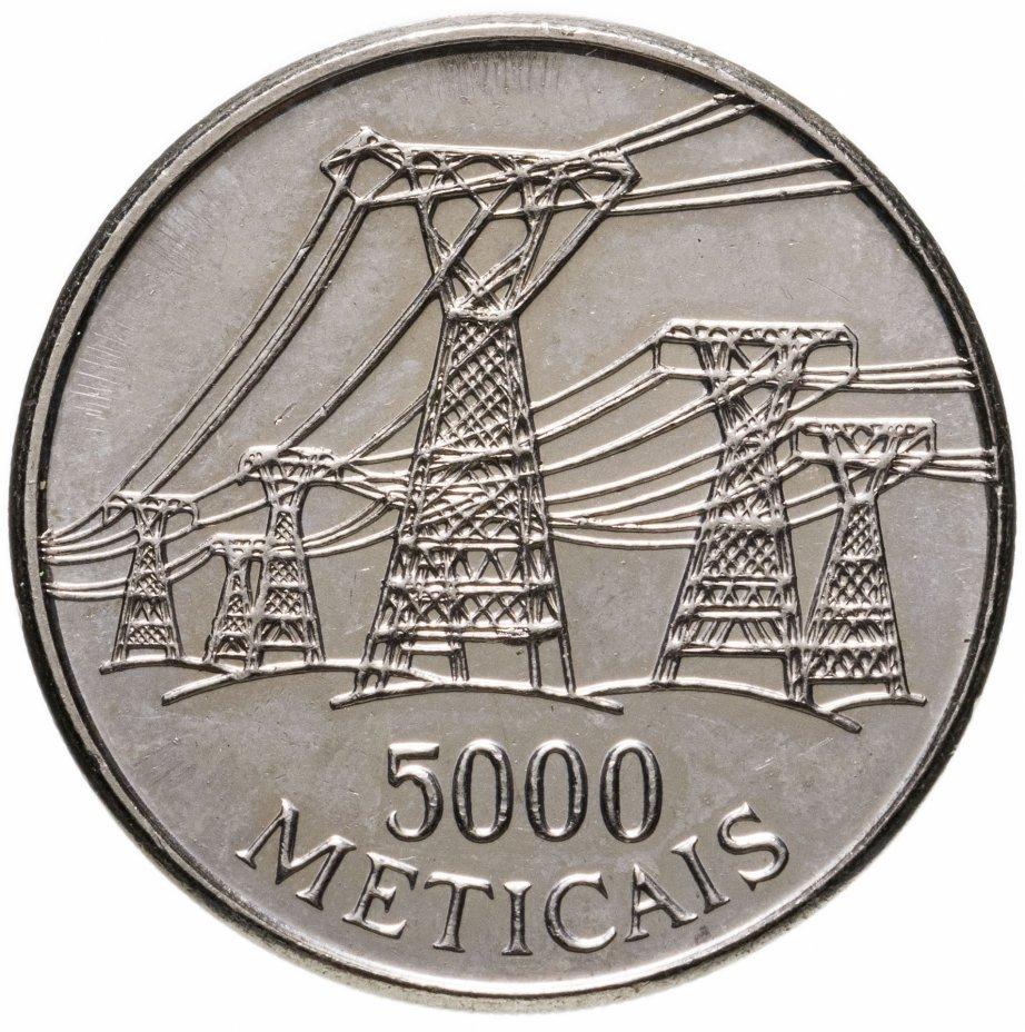 купить Мозамбик 5000 метикал 1998