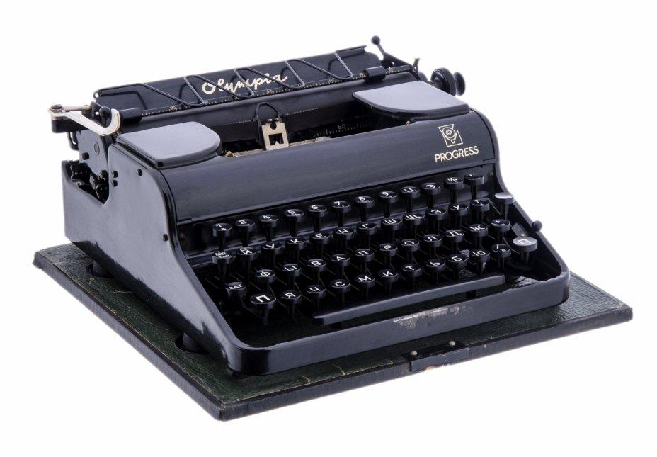 """купить Печатная машинка модели """"Progress"""", фирма """"Olympia"""", г. Эрфурт, Германия, 1950-1960 гг."""