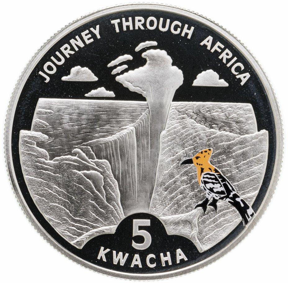 """купить Малави 5 квача 2006 """"Путешествие по Африке - водопад Виктория"""""""