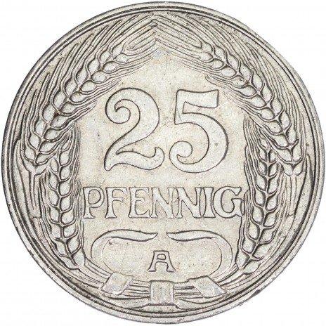 купить Германия 25 пфеннигов 1911