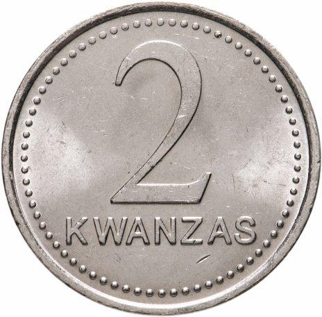 купить Ангола 2 кванзы (kwanzas) 1999