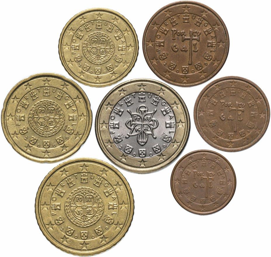 купить Португалия полный годовой набор евро для обращения 2009 (7 штук, VF-XF)
