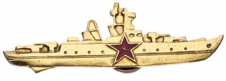 """купить Знак """"Командир корабля"""", золотистый"""