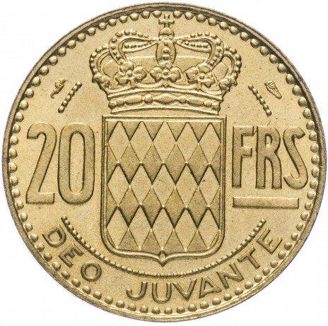 купить Монако 20 франков 1950