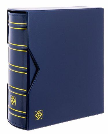 купить Альбом OPTIMA-Classic GIGANT (без листов) + шубер (защитная кассета). Синий. Leuchtturm, 322659