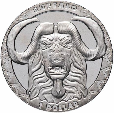 купить Сьерра-Леоне 1 доллар 2019 Буйвол