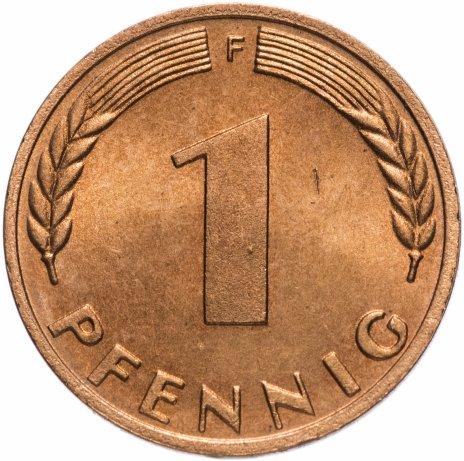 купить Западная Германия (ФРГ) 1 пфенниг 1972 F