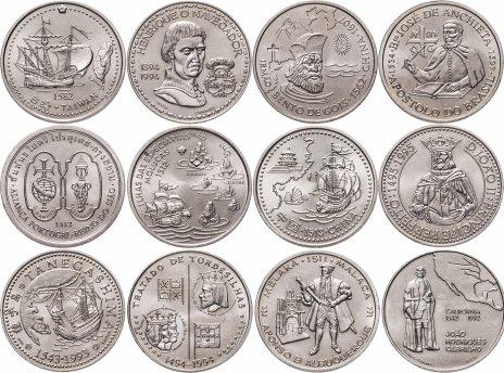 купить Португалия набор из 12 монет 200 эскудо 1994-1997