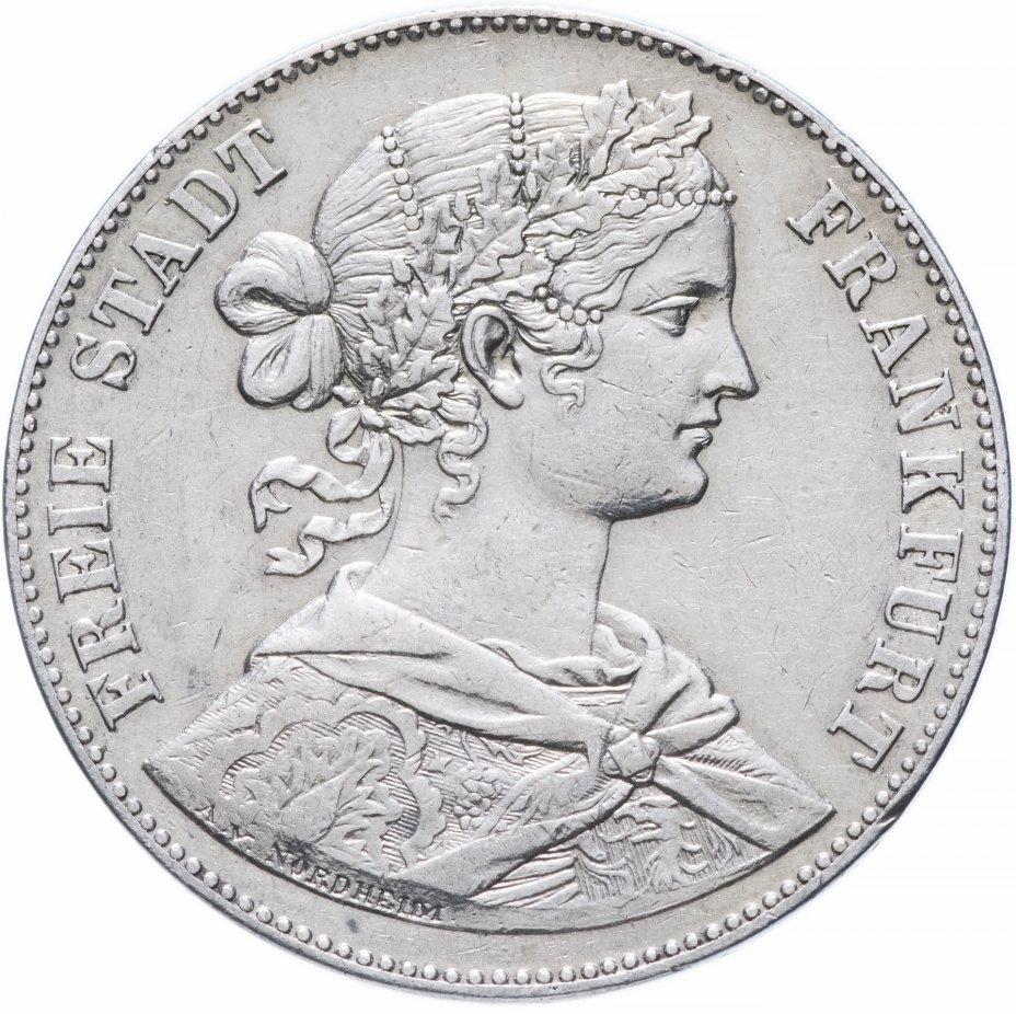 купить Франкфурт 1 союзный талер (vereinsthaler) 1860