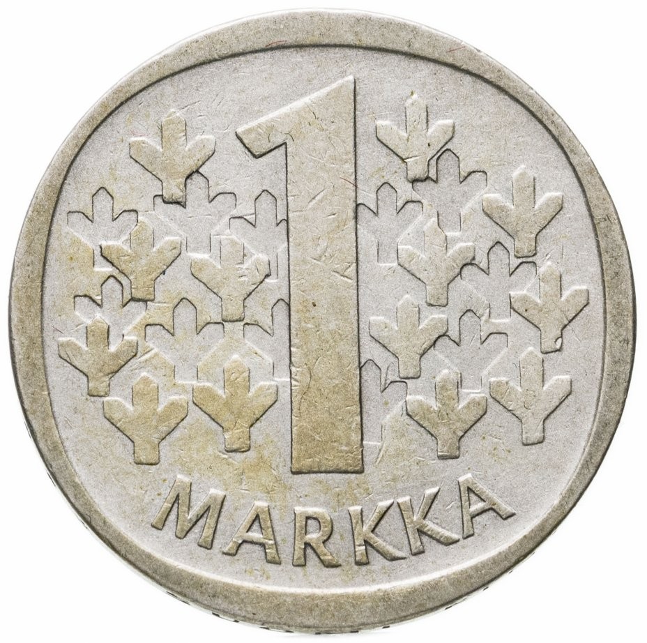 купить Финляндия 1 марка (markka) 1965 S