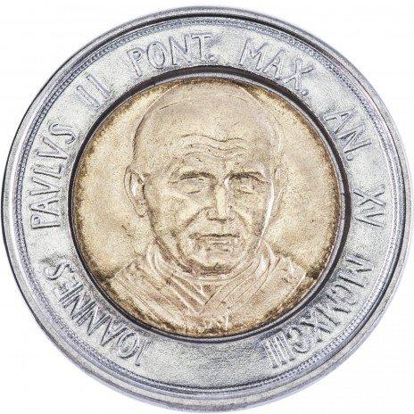 купить Ватикан 500 лир 1993