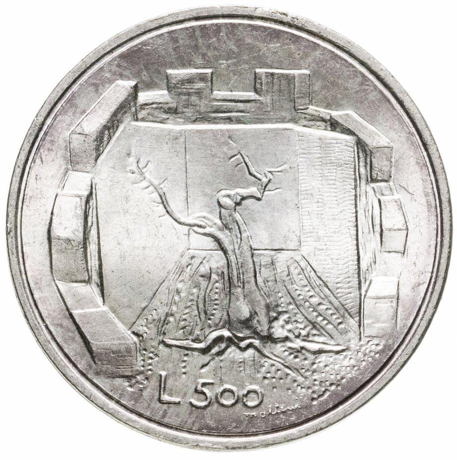 купить Сан-Марино 500лир (lire) 1976  Республика (дерево)