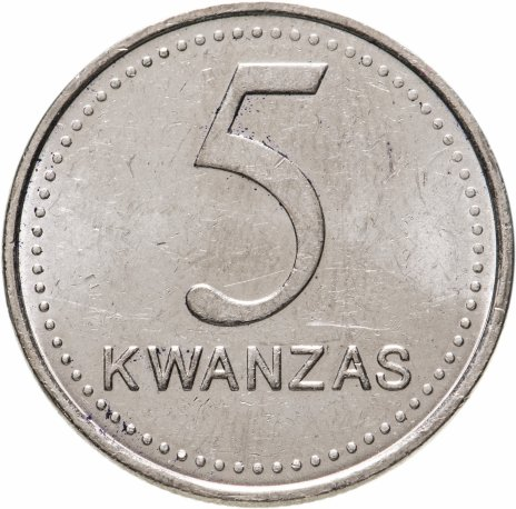 купить Ангола 5 кванз (kwanzas) 1999
