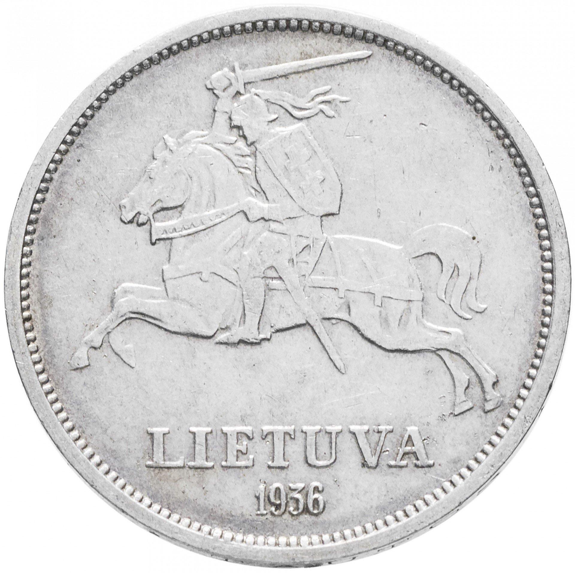 5 лит 1936 литва монета 10 рублей 1997 года цена
