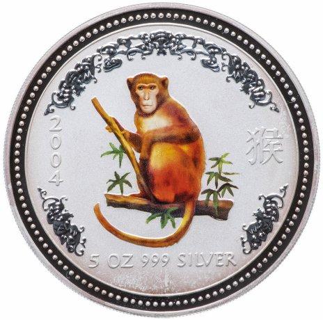 """купить Австралия 8 долларов 2004 """"Год обезьяны"""""""