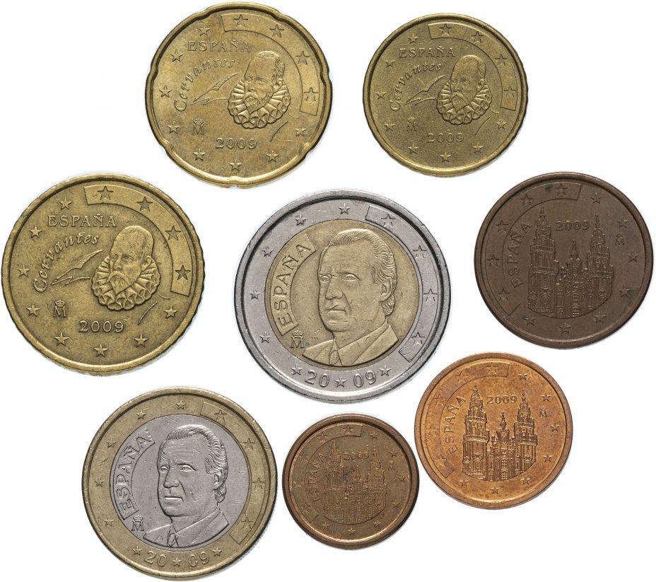 купить Испания полный годовой набор евро для обращения 2009 (8 штук, VF-XF)