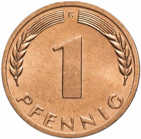 купить Западная Германия (ФРГ) 1 пфенниг 1970 G