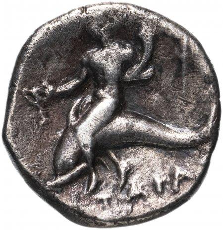 купить Калабрия, Тарент, 272-235 годы до Р.Х., Дидрахма.(Дельфин)