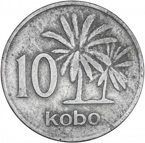 купить Нигерия 10 кобо 1973
