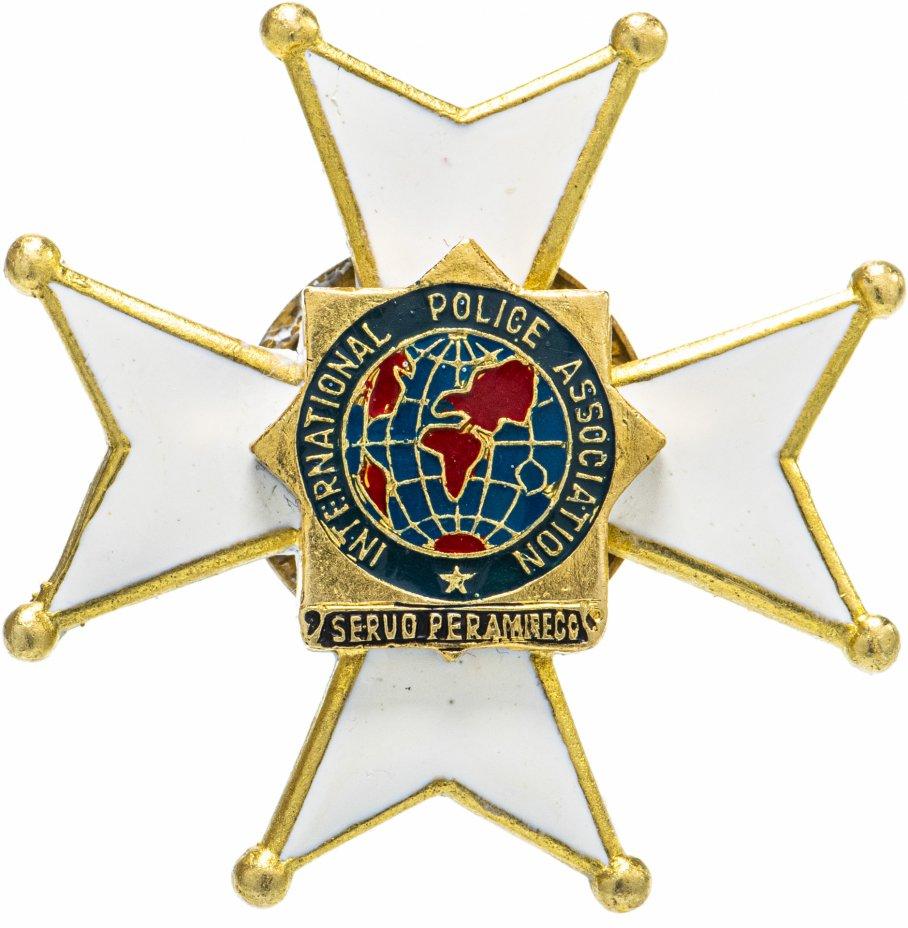 """купить Знак """"Международная полицейская ассоциация"""""""