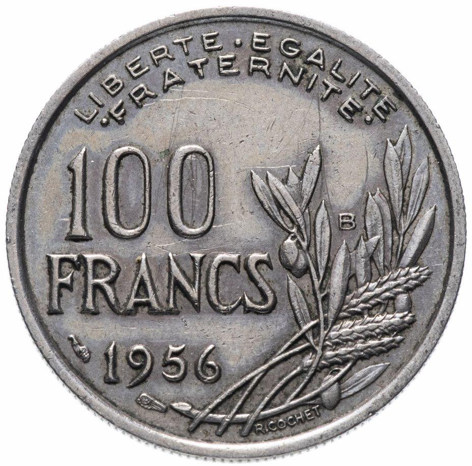 купить Франция 100 франков 1956