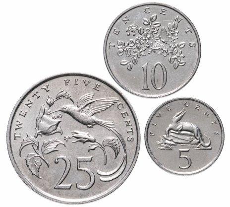 купить Ямайка набор из 3-х монет 1988-1990