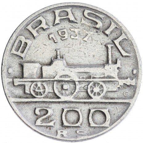 купить Бразилия 200 рейс 1937