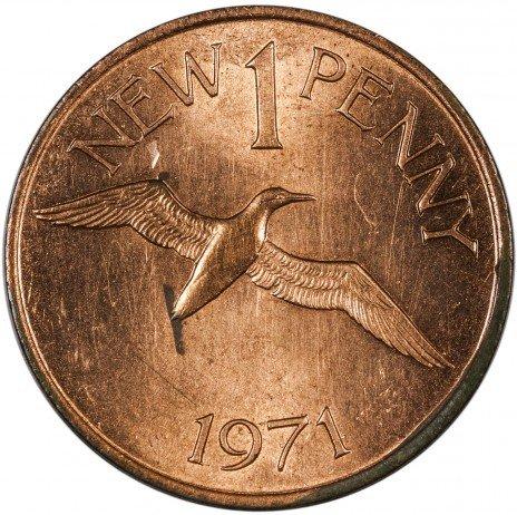 купить Гернси 1 пенни 1971