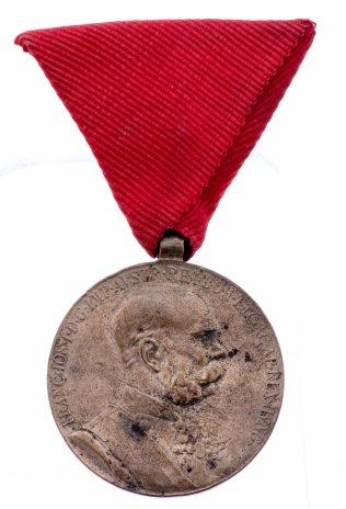 купить Резерв ЮЛА Австро Венгрия медаль 50 лет правления императора Франца Иосифа 1898