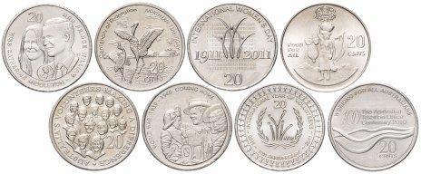 купить Австралия набор из 8 монет 1995-2011