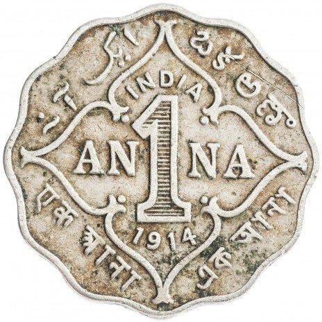 купить Индия 1 анна 1914