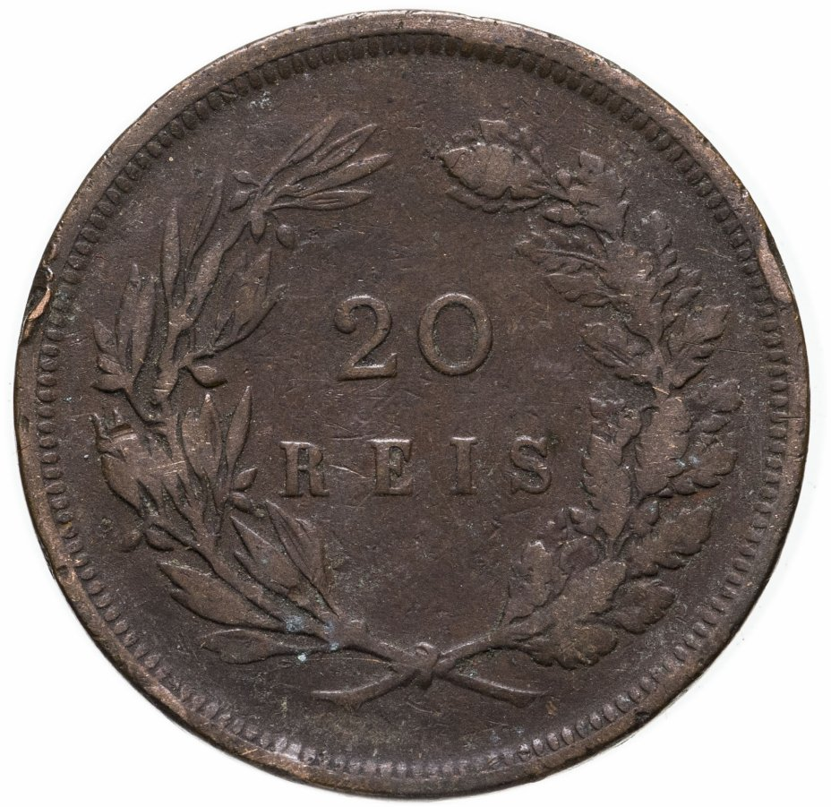 купить Португалия 20 рейс (reis) 1892
