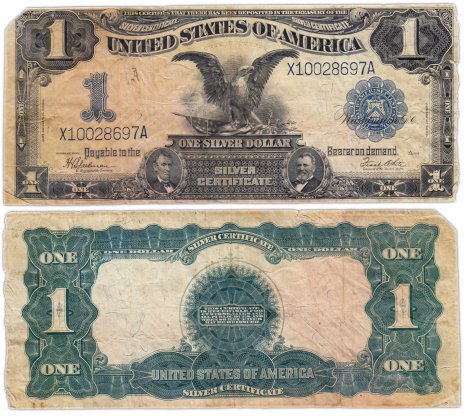 купить США 1 доллар 1899 series 1899 (Pick 338) Speelman-White