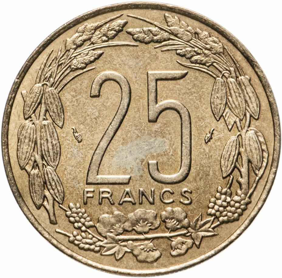 купить Центральная Африка (BEAC) 25 франков (francs) 1975