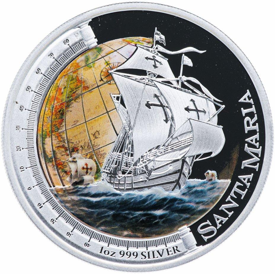 """купить Тувалу 1 доллар 2011 """"Корабли, изменившие мир - Санта Мария"""""""