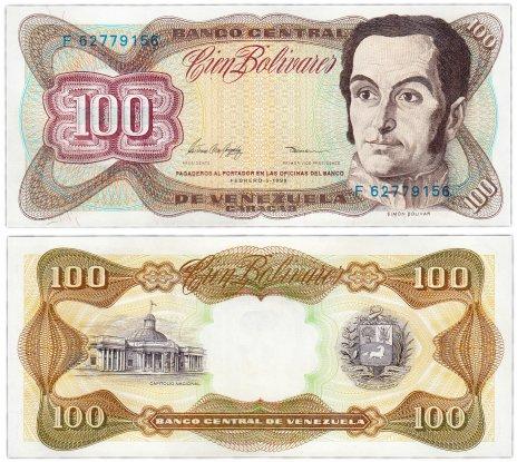 купить Венесуэла 100 боливар 1998 (Pick 66f) 05/02/1998