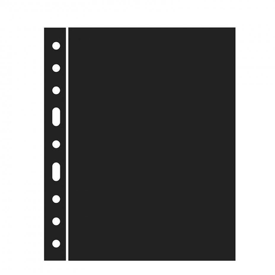 купить Лист-разделитель Leuchtturm (Германия) формата Optima (200х250 мм) ZWL черный, 335313