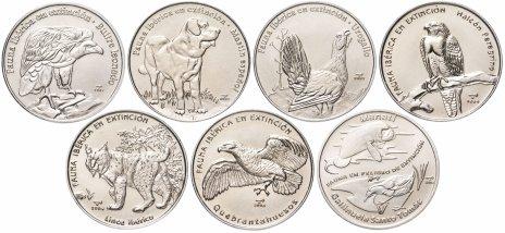 купить Куба набор из 7 монет 1 песо 2004-2009