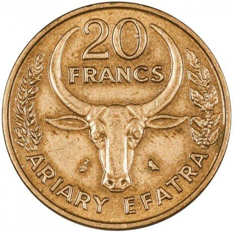 купить Мадагаскар 20 франков 1971