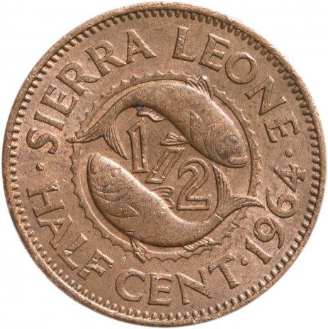 купить Сьерра-Леоне 1/2 цента (cent) 1964