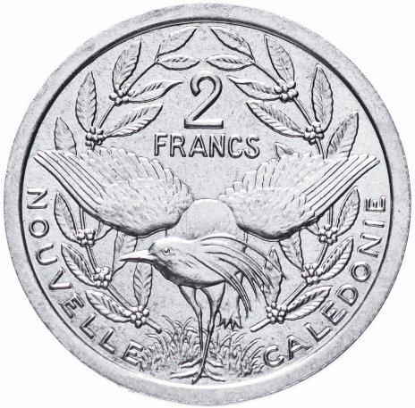 купить Новая Каледония 2 франка (francs) 1973-2020, случайная дата