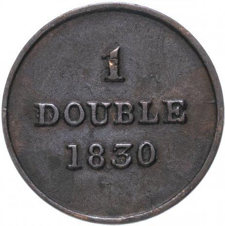 купить Гернси 1 дубль (double) 1830